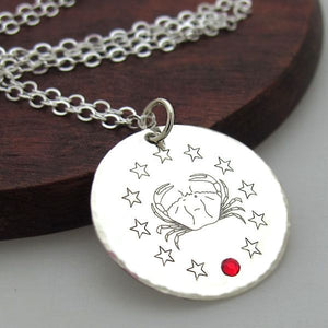 Zodiac Necklace - Personalized Zodiac Jewelry