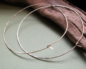 Elegant Extra Large 14k Gold Filled Hoops