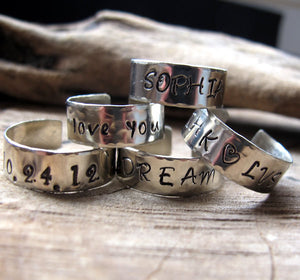 Shema Israel Ring - Jewish Prayer Jewelry