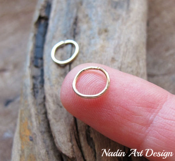 Small 14K Gold Filled Hoops