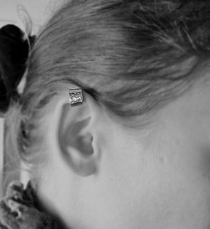 Personalized Initial Ear Cuff Cartilage Earring