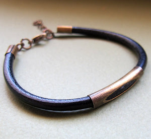Adjustable Rustic Bracelet for Men
