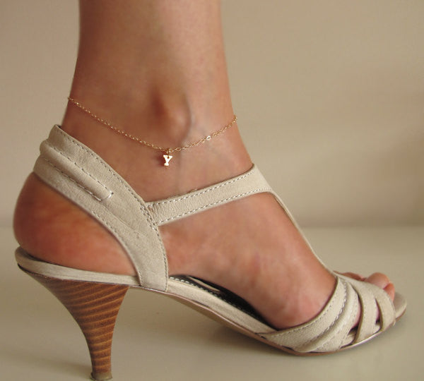 ankle design tattoo anklet simple bracelet charm tattoomagz