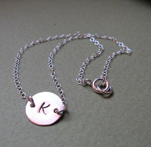 Personalized Initial Bracelet for her
