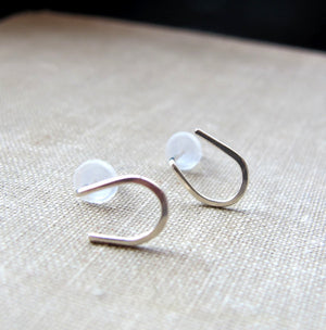 Good Luck Horseshoe Stud Earrings
