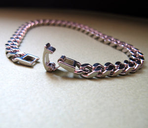 Wide Chain Bracelet for Men