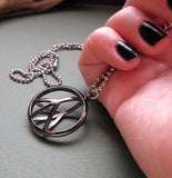 Peace Sign Pendant Necklace for Men