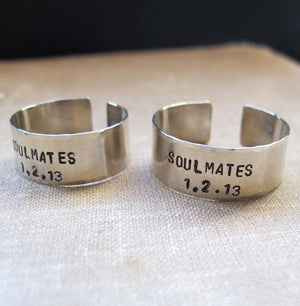 Soulmates Ring - Band Ring for Men and Women