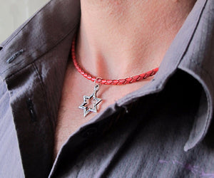 Star of David Pendant Jewish Necklace