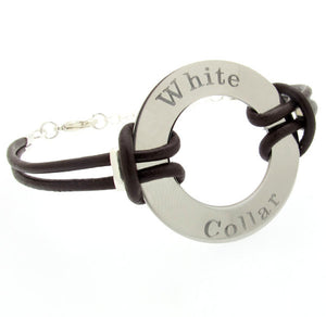 Personalized Washer Bracelet for Men
