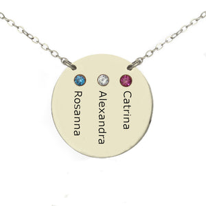 Kids Names Mother's Necklace