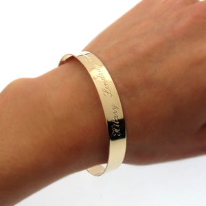 Upper Arm Gold Bracelet