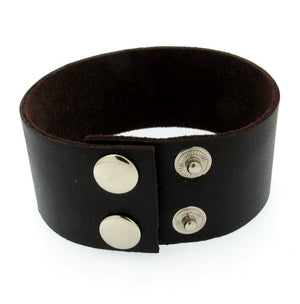 Fathers Day Gift - Leather Cuff