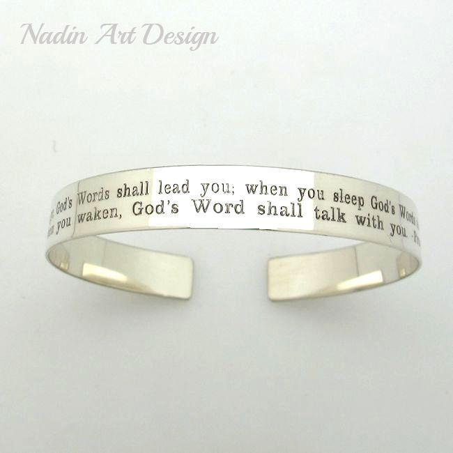 engraved cuff bracelet birthday gift for her personalized bracelet