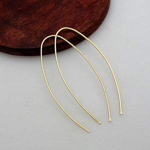 Curved Earrings - Everyday Earrings
