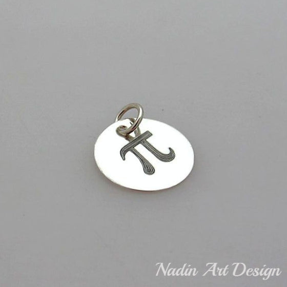 Sterling Silver Small Disc Charm