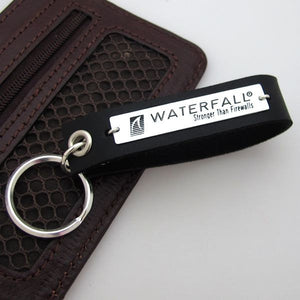 Men's Personalized Key Chain - Engraved ID keychain