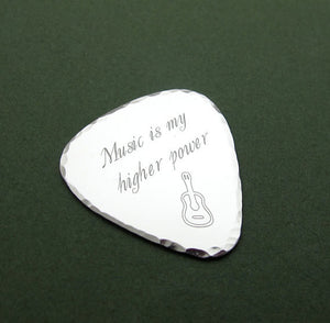 Guitar Pick Necklace for Men - Music Lovers Gift