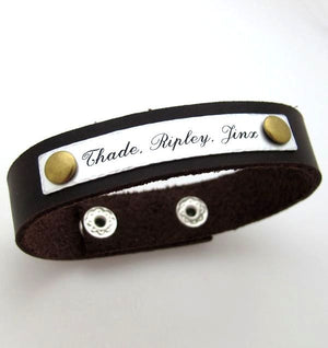 Men's Jewelry - Custom Cuff for Men