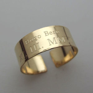 Gold Filled Paw Band Ring