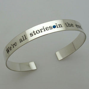 Birthstone Cuff - Personalized Gift for Her