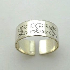 Personalized Initial Ring