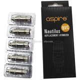 5 pack of Aspire Nautilus 2 BVC Coils