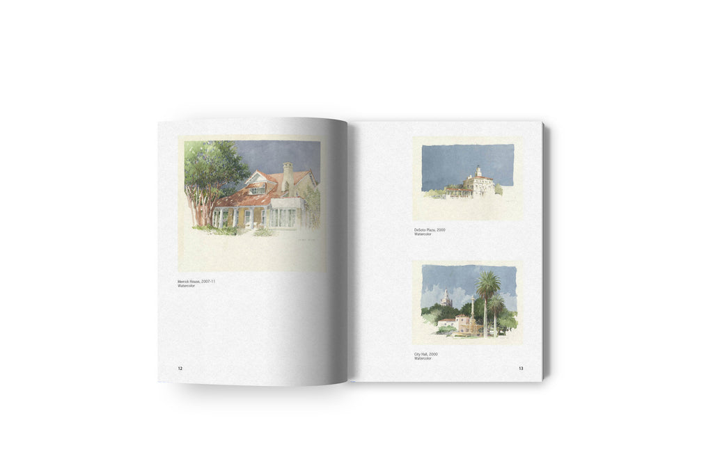 Coral Gables & Rome | The Drawings of Thomas A. Spain - Oscar Riera Ojeda Publishers