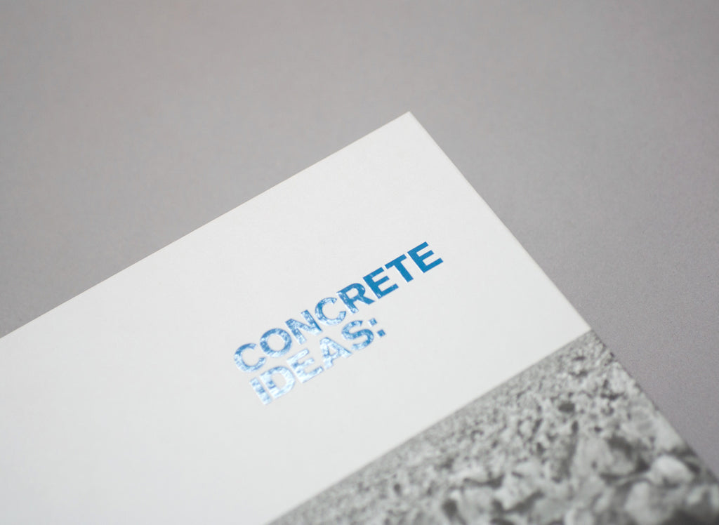 Concrete Ideas: Material to Shape a City