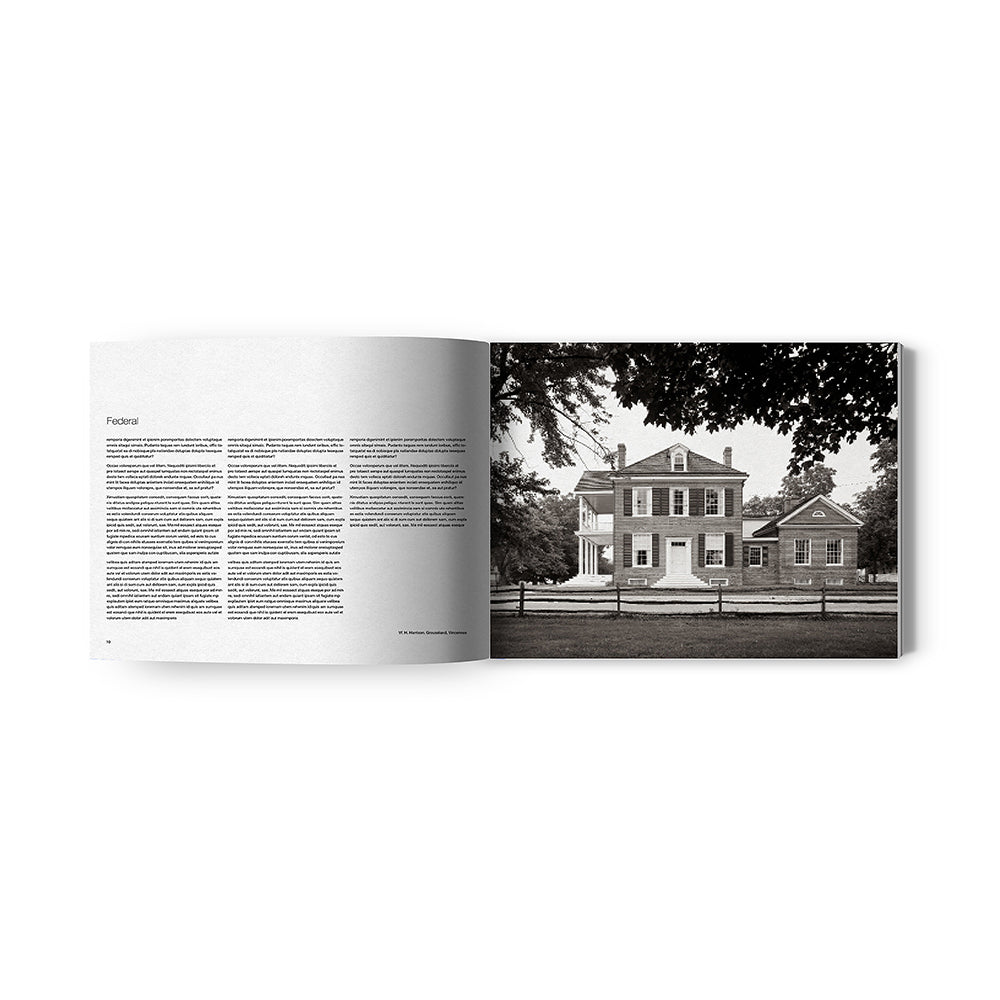 American Residential Architecture | Photographs of the Evolution of Indiana Houses - Oscar Riera Ojeda Publishers