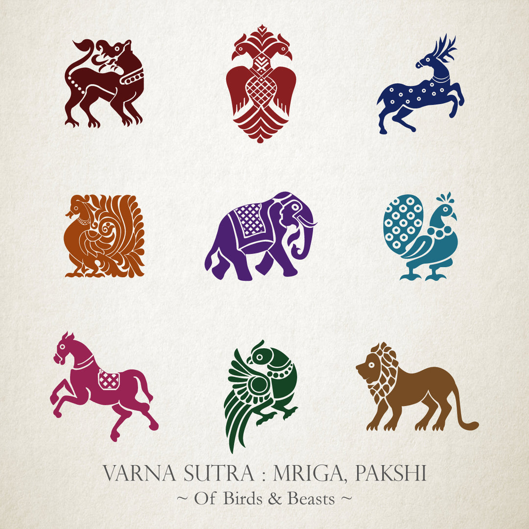 Varna Sutra : Mriga, Pakshi - Of Birds & Beasts
