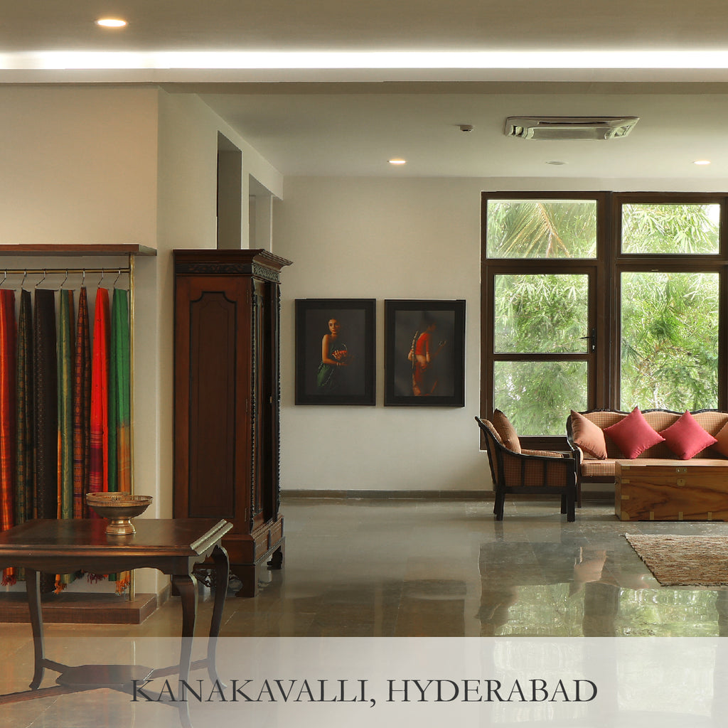 Shop curated handwoven saris, fine artisanal jewellery & accessories