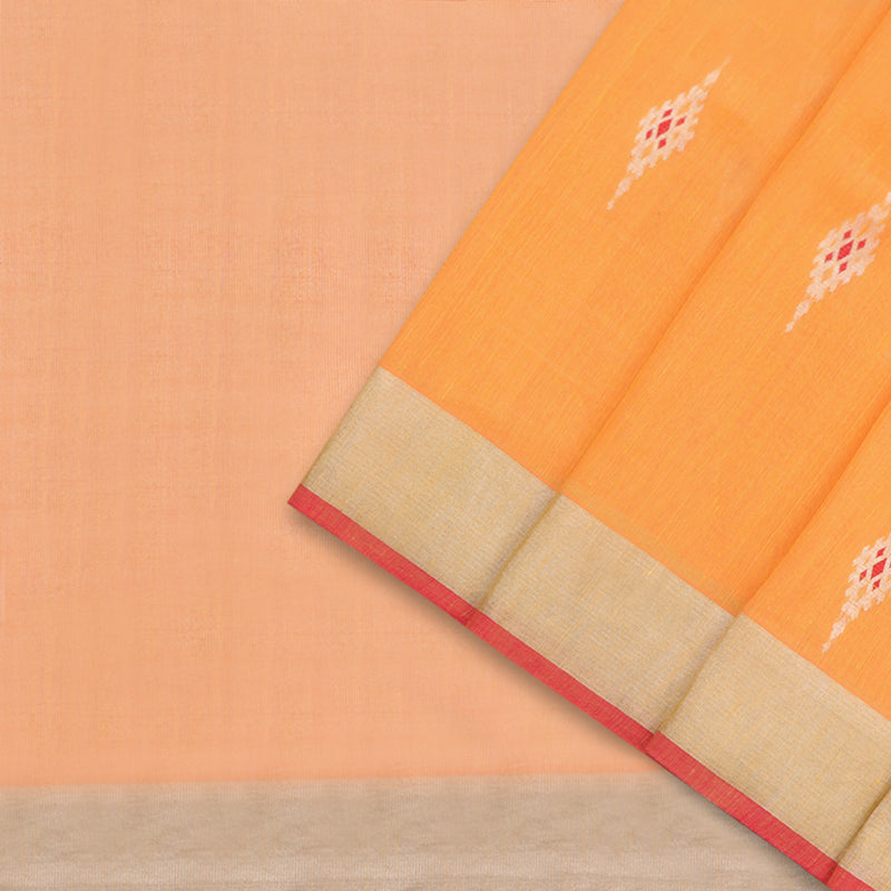 Pradeep Pillai Linen/Cotton Sari 008-01-1452 - Cover View