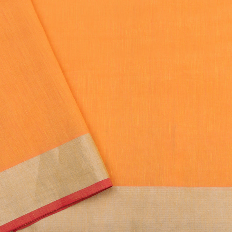 Pradeep Pillai Linen/Cotton Sari 008-01-1452 - Blouse View