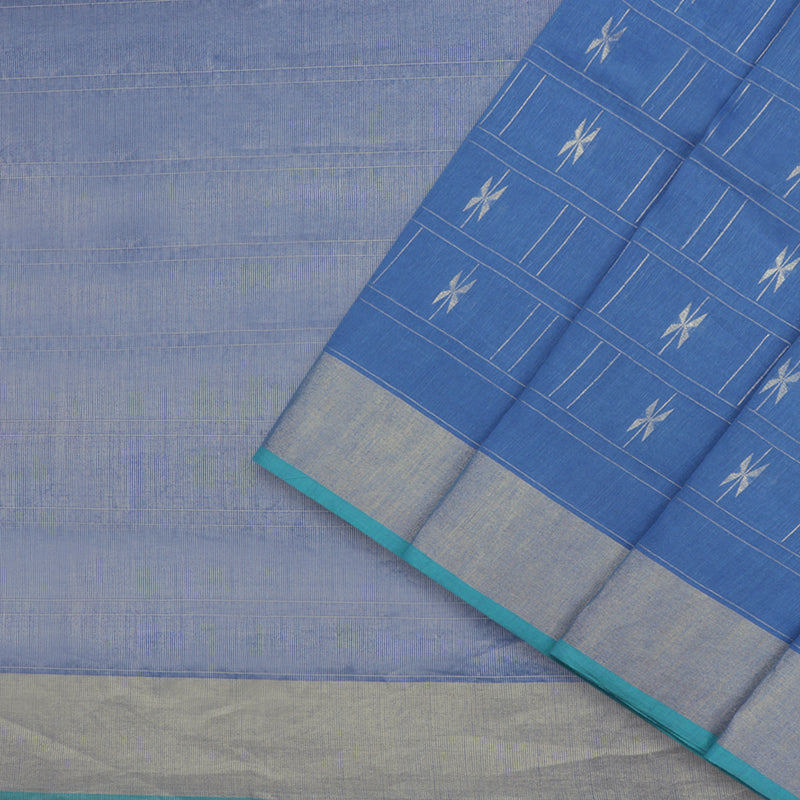 Pradeep Pillai Linen/Cotton Sari 008-01-1667 - Cover View