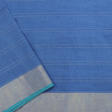 Pradeep Pillai Linen/Cotton Sari 008-01-1667 - Blouse View