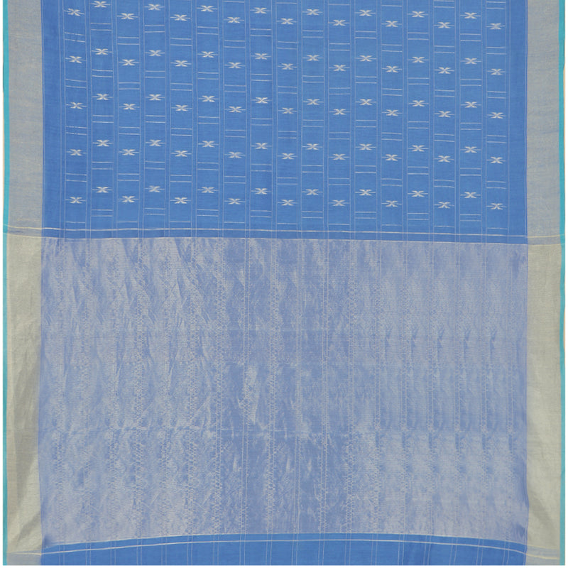 Pradeep Pillai Linen/Cotton Sari 008-01-1667 - Full View