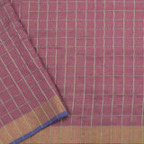 Pradeep Pillai Linen/Cotton Sari 008-01-2094 - Blouse View