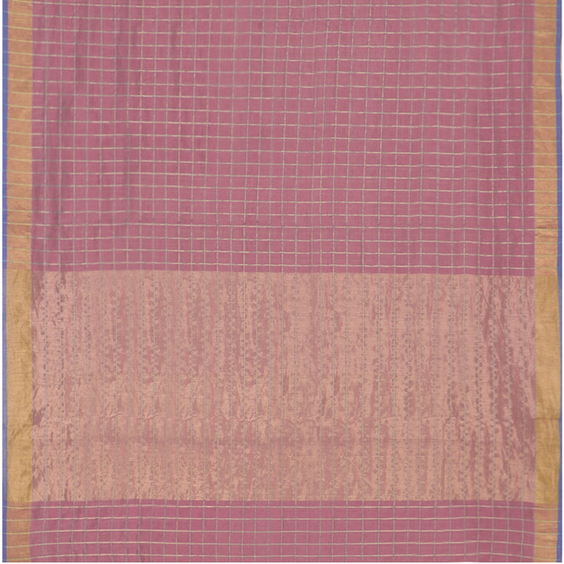 Pradeep Pillai Linen/Cotton Sari 008-01-2094 - Full View