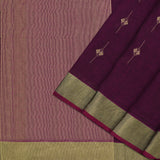 Pradeep Pillai Linen/Cotton Sari 008-01-2667 - Cover View