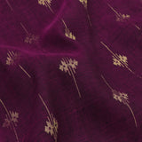 Pradeep Pillai Linen/Cotton Sari 008-01-2667 - Fabric View