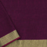 Pradeep Pillai Linen/Cotton Sari 008-01-2667 - Blouse View