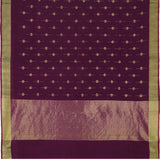 Pradeep Pillai Linen/Cotton Sari 008-01-2667 - Full View