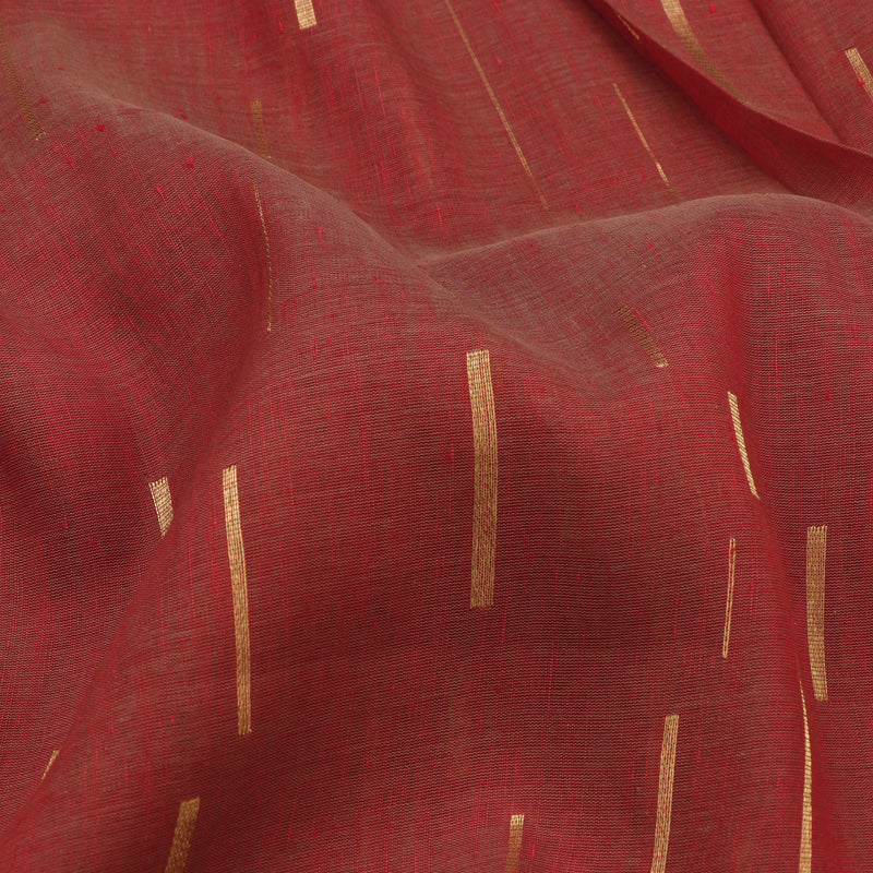 Pradeep Pillai Linen/Cotton Sari 008-01-2683 - Fabric View