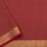 Pradeep Pillai Linen/Cotton Sari 008-01-2683 - Blouse View