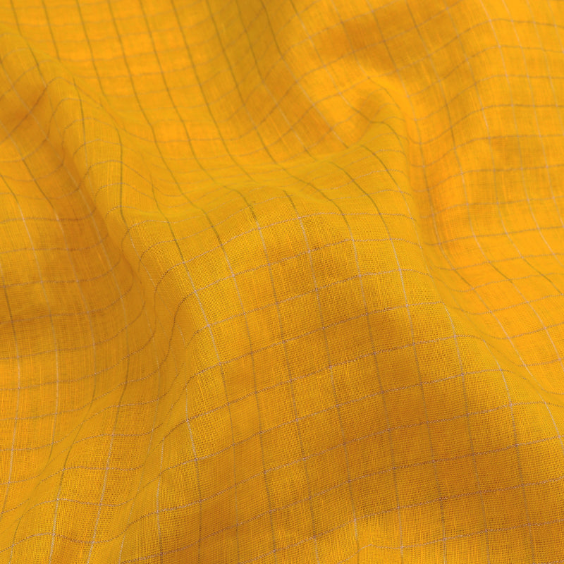 Pradeep Pillai Linen/Cotton Sari 008-01-2729 - Fabric View