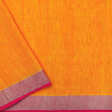 Pradeep Pillai Linen/Silk Sari 008-02-2768 - Blouse View