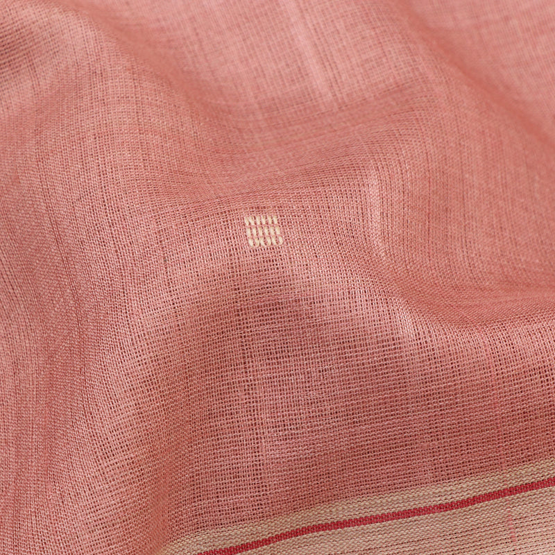 Pradeep Pillai Tussore Sari 008-07-2257 - Fabric View