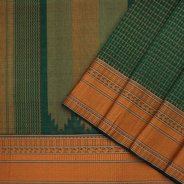 Kanakavalli Silk/Cotton Sari 071-08-100221 - Cover View