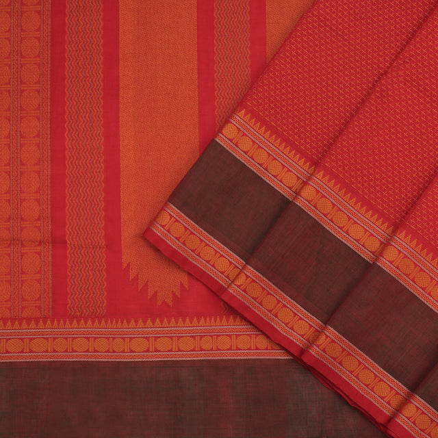 Kanakavalli Silk/Cotton Sari 071-08-100231 - Cover View